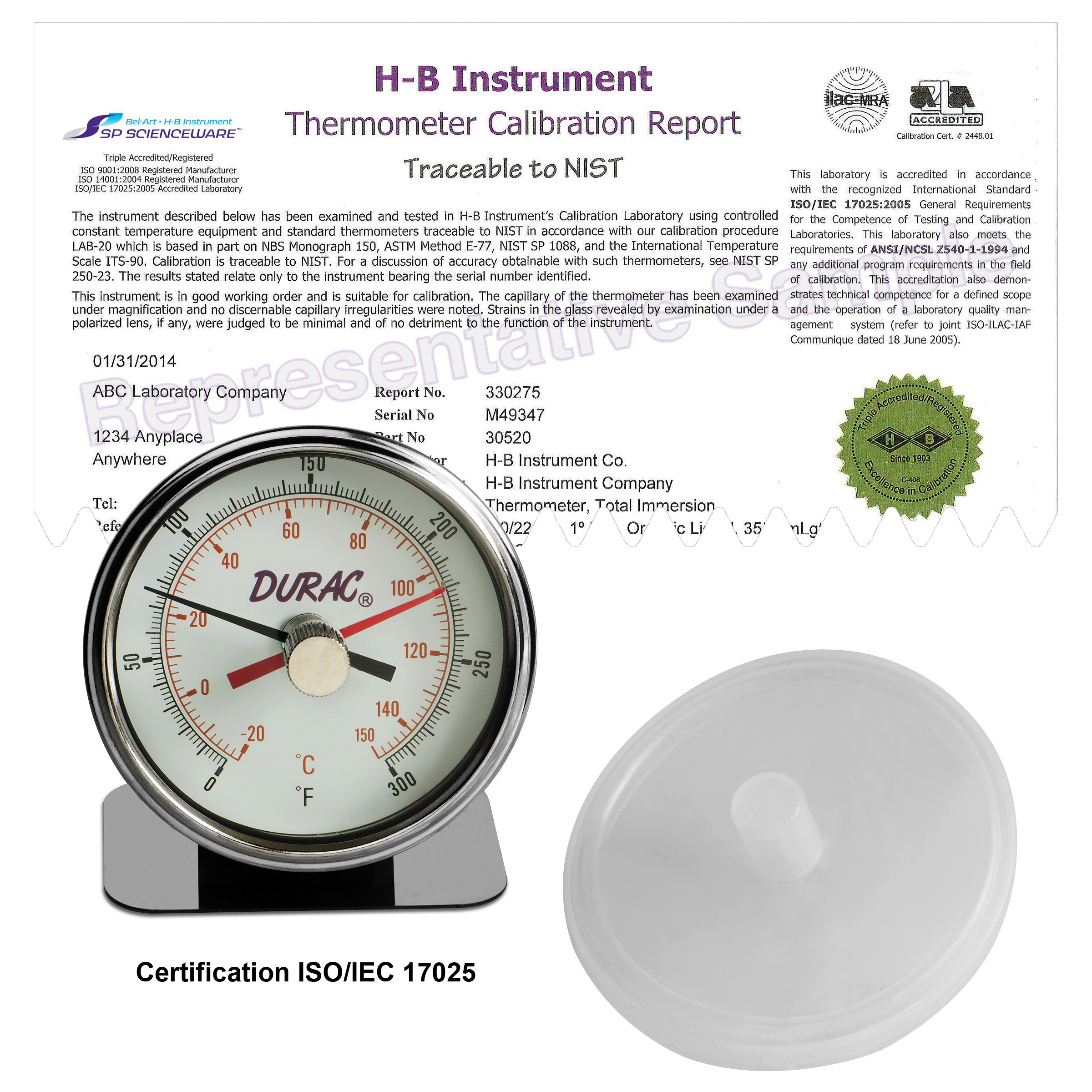 Autoclave Thermometer